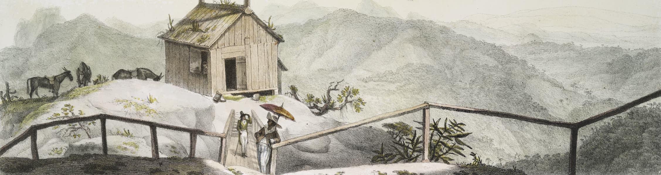 Voyage Pittoresque et Historique au Bresil Vol. 3 - Panorama de l'intérieur de la Baie de Rio de Janeiro [I] (1839)