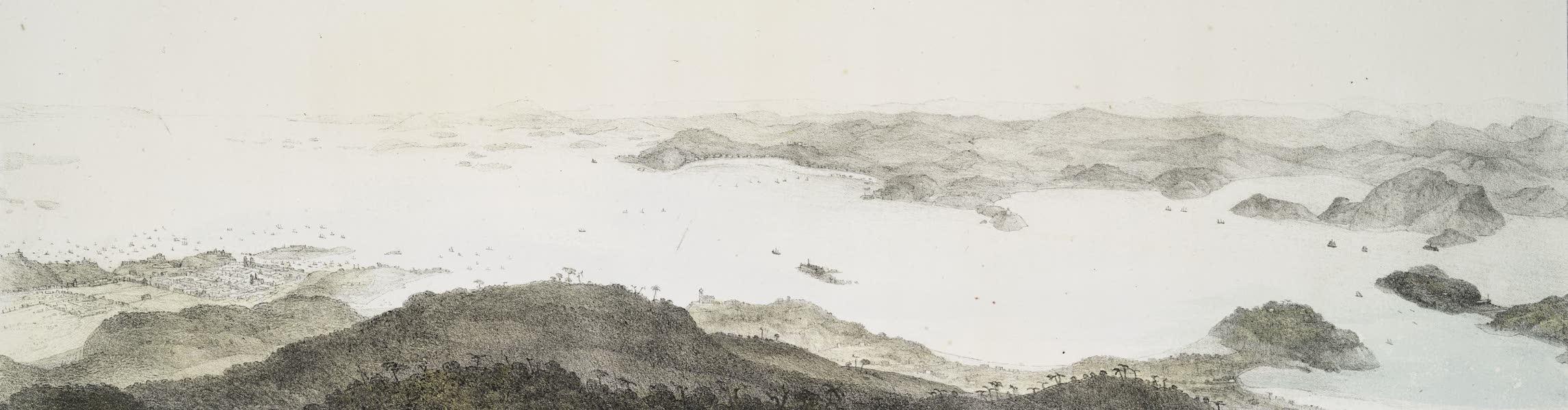 Voyage Pittoresque et Historique au Bresil Vol. 3 - Suite du Panorama de la Baie de Rio de Janeiro [I] (1839)