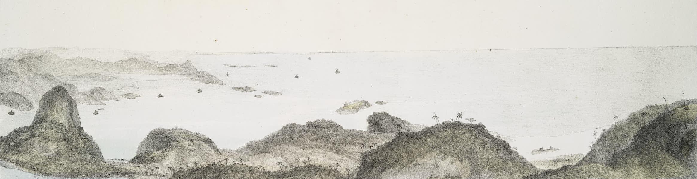 Voyage Pittoresque et Historique au Bresil Vol. 3 - Suite du Panorama de la Baie de Rio de Janeiro [II] (1839)