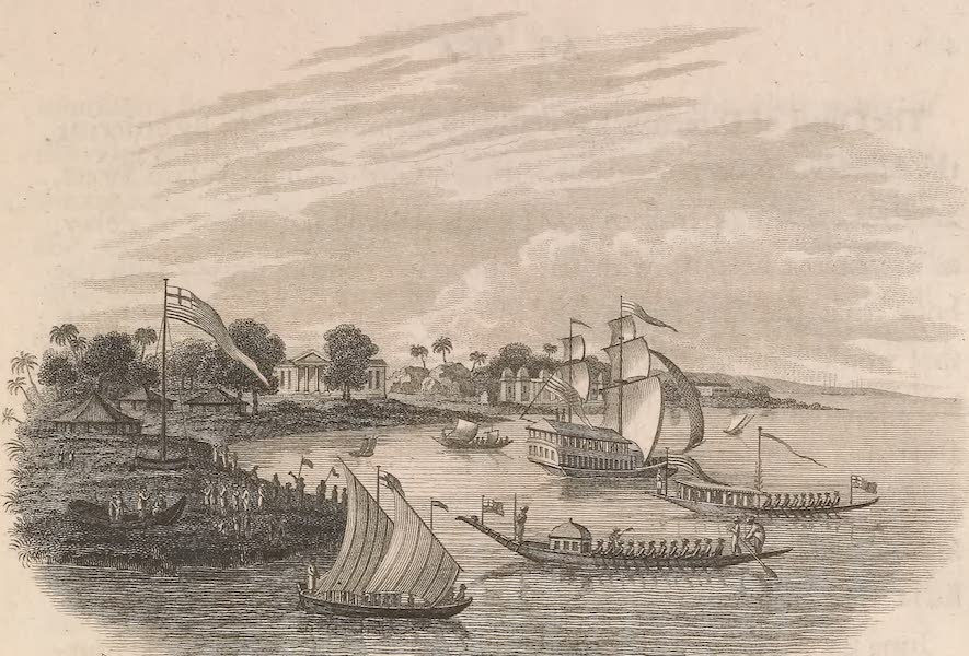 Voyages and Travels to India, Ceylon, the Red Sea, Abyssinia, and Egypt Vol. 1 - The Governor General's Seat at Barrackpore (1809)