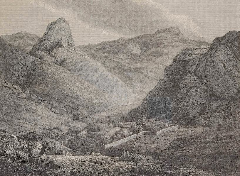 Voyages and Travels to India, Ceylon, the Red Sea, Abyssinia, and Egypt Vol. 1 - View of Sandy Bay, St. Helena (1809)