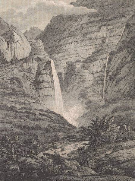 Voyages and Travels to India, Ceylon, the Red Sea, Abyssinia, and Egypt Vol. 1 - Water-Fall at French Hoek (1809)