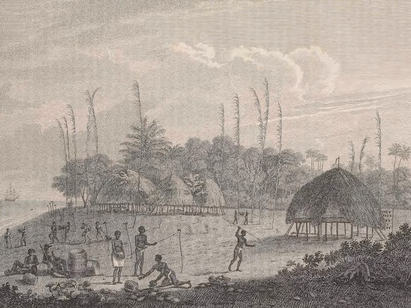 Voyages and Travels to India, Ceylon, the Red Sea, Abyssinia, and Egypt Vol. 1 - View at Car Nicobar (1809)