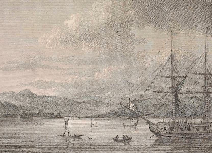 Voyages and Travels to India, Ceylon, the Red Sea, Abyssinia, and Egypt Vol. 1 - View of Adam's Peak, and Point de Galle (1809)