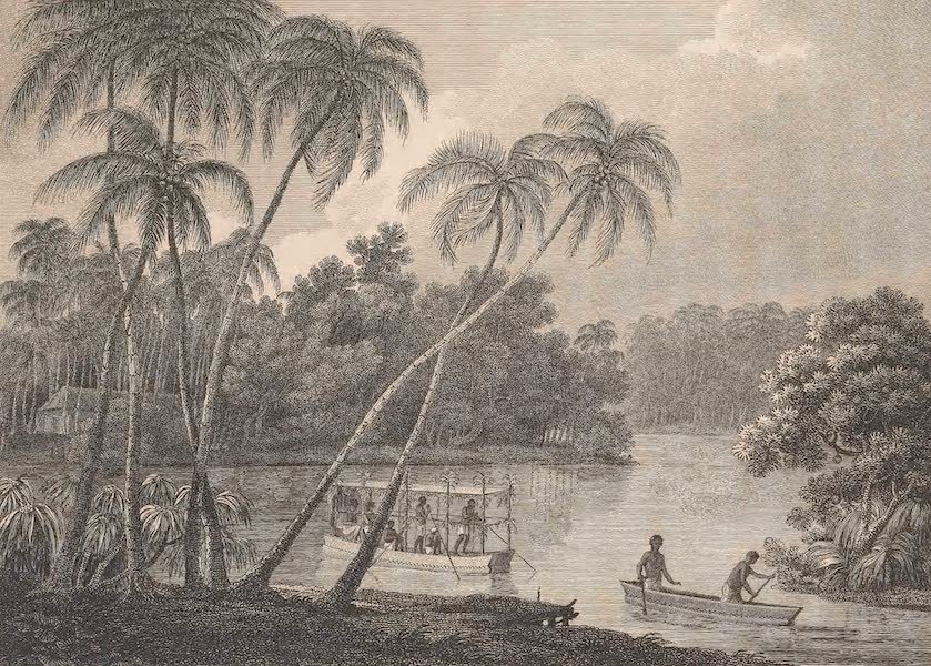 Voyages and Travels to India, Ceylon, the Red Sea, Abyssinia, and Egypt Vol. 1 - The Manner of Passing a River Between Point de Galle & Columbo (1809)