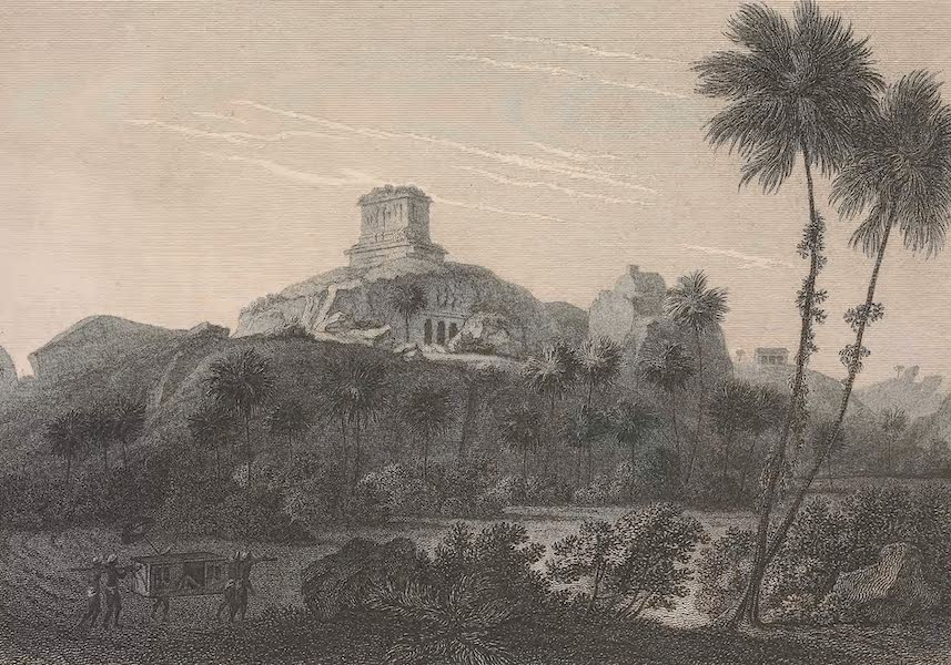 Voyages and Travels to India, Ceylon, the Red Sea, Abyssinia, and Egypt Vol. 1 - Pagodas at Mahabalipuram (1809)