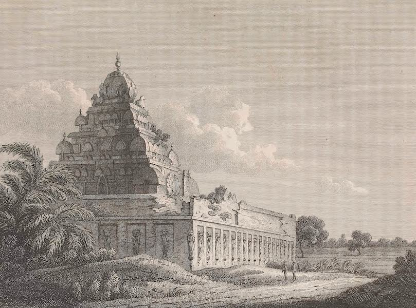 Voyages and Travels to India, Ceylon, the Red Sea, Abyssinia, and Egypt Vol. 1 - Pagoda at Conjeveram (1809)