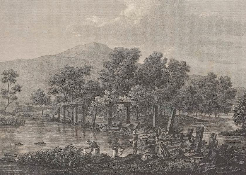 Voyages and Travels to India, Ceylon, the Red Sea, Abyssinia, and Egypt Vol. 1 - Ruins of a Bridge, Across the Cauveri (1809)