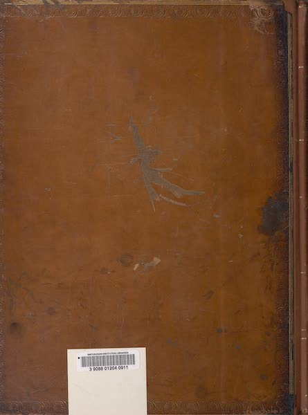 Voyages and Travels to India, Ceylon, the Red Sea, Abyssinia, and Egypt Vol. 1 - Back Cover (1809)