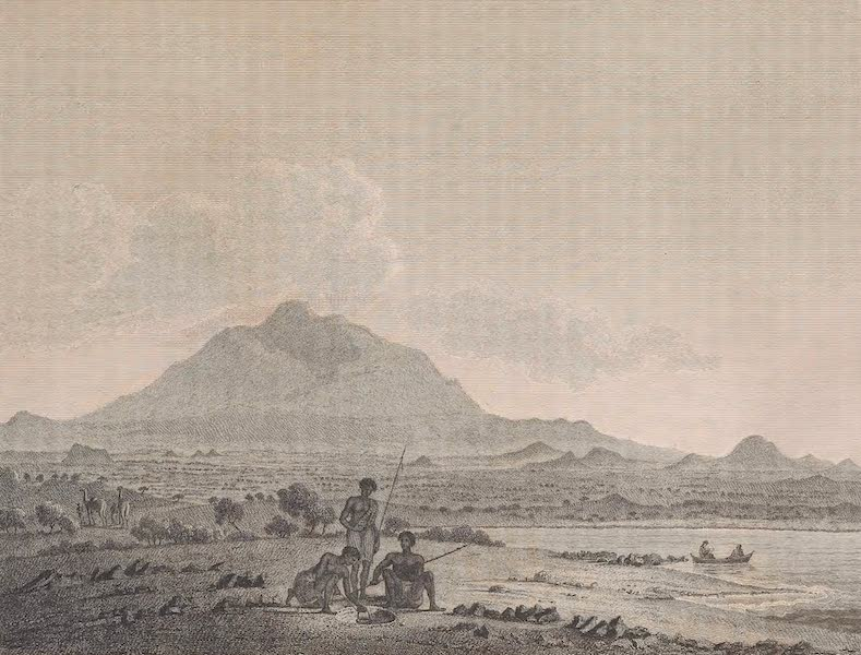 Voyages and Travels to India, Ceylon, the Red Sea, Abyssinia, and Egypt Vol. 2 - View from Rachmah (1809)
