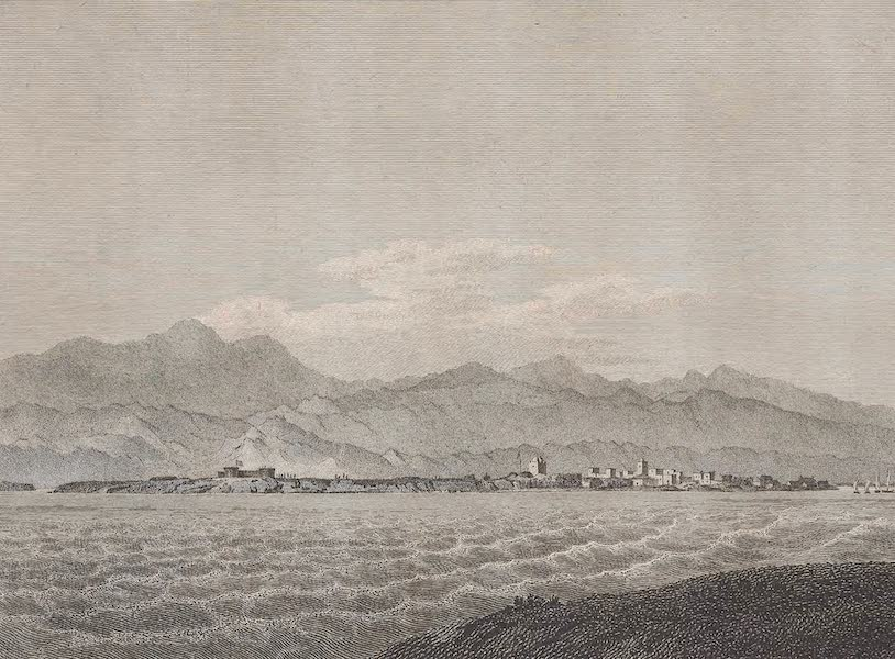Voyages and Travels to India, Ceylon, the Red Sea, Abyssinia, and Egypt Vol. 2 - View of Massowah (1809)