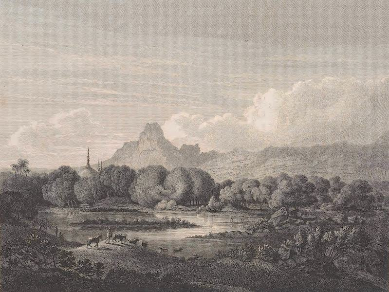 Voyages and Travels to India, Ceylon, the Red Sea, Abyssinia, and Egypt Vol. 2 - View from Panwell (1809)