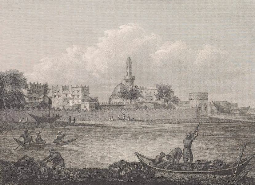 Voyages and Travels to India, Ceylon, the Red Sea, Abyssinia, and Egypt Vol. 2 - View of the South Quarter of Mocha (1809)