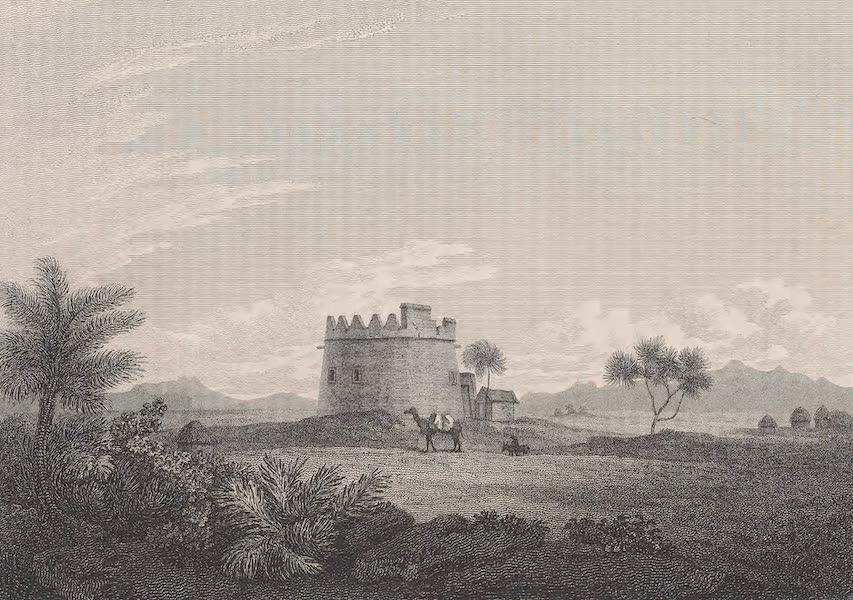 Voyages and Travels to India, Ceylon, the Red Sea, Abyssinia, and Egypt Vol. 2 - Watchtower Between Mocha & Musa (1809)