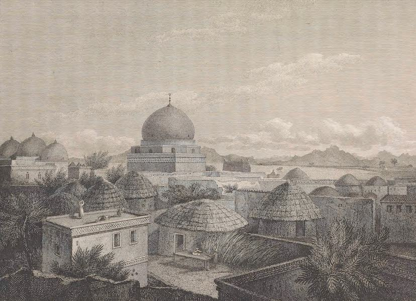 Voyages and Travels to India, Ceylon, the Red Sea, Abyssinia, and Egypt Vol. 2 - View of Moosa (1809)