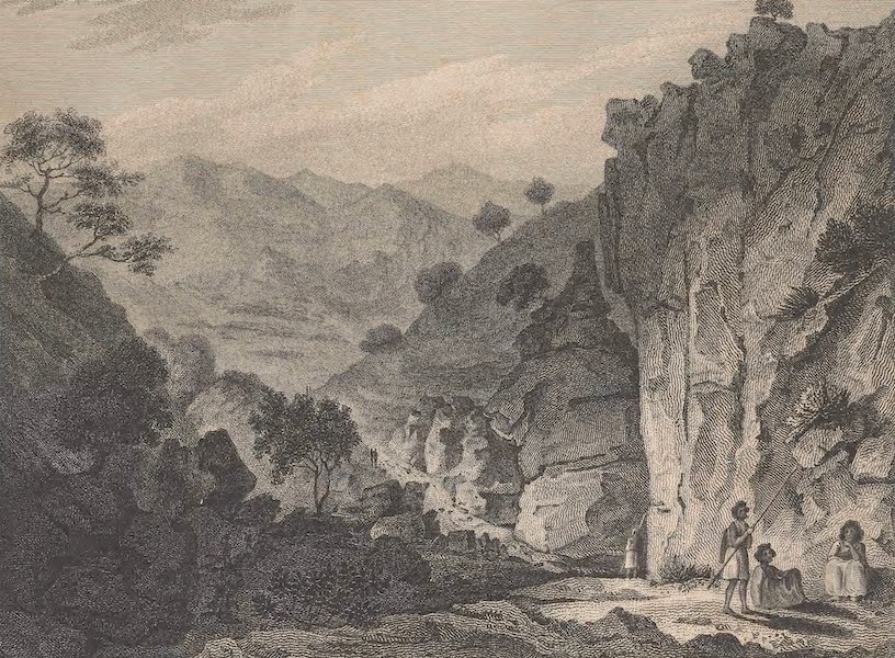 Voyages and Travels to India, Ceylon, the Red Sea, Abyssinia, and Egypt Vol. 2 - Pass of Taranta (1809)