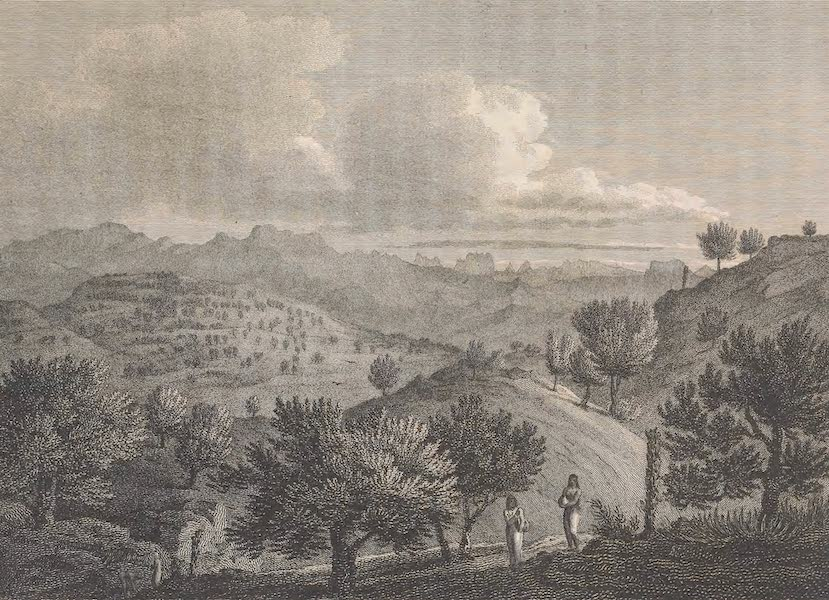 Voyages and Travels to India, Ceylon, the Red Sea, Abyssinia, and Egypt Vol. 2 - Mountains of Tigre from Dixan (1809)