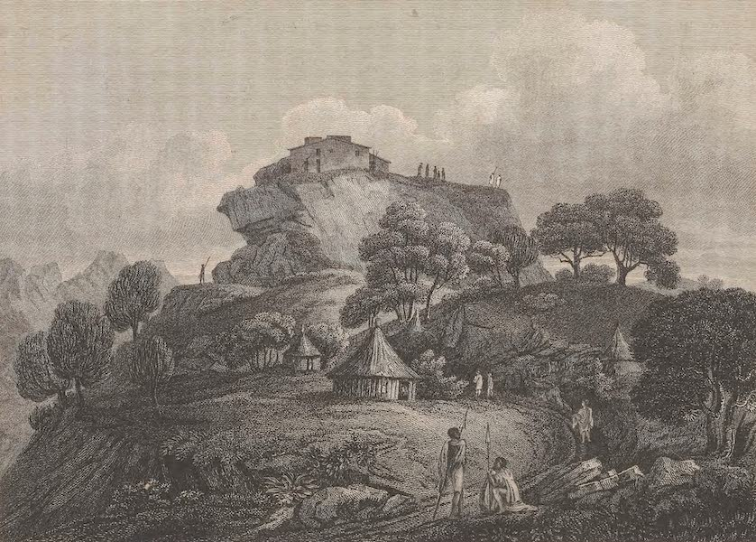 Voyages and Travels to India, Ceylon, the Red Sea, Abyssinia, and Egypt Vol. 3 - Genater, the Capital of Agowma (1809)