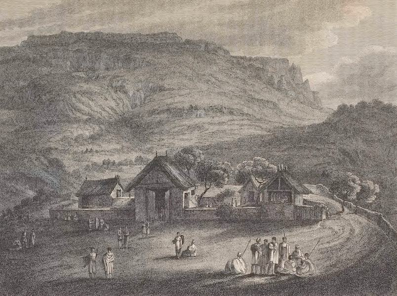Voyages and Travels to India, Ceylon, the Red Sea, Abyssinia, and Egypt Vol. 3 - The Residence of the Ras at Antalow (1809)