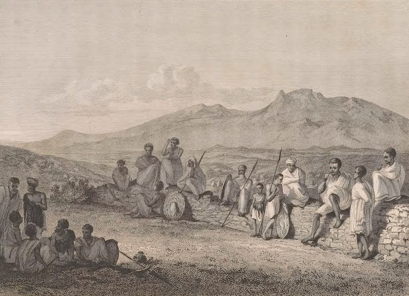 Voyages and Travels to India, Ceylon, the Red Sea, Abyssinia, and Egypt Vol. 3 - View from the Ras's-House at Antalow (1809)