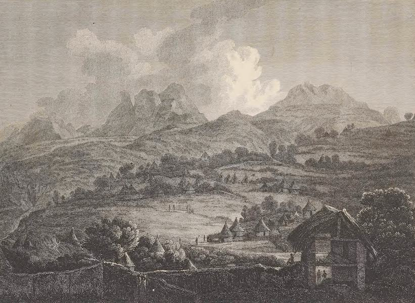 Voyages and Travels to India, Ceylon, the Red Sea, Abyssinia, and Egypt Vol. 3 - The Town of Adowe (1809)