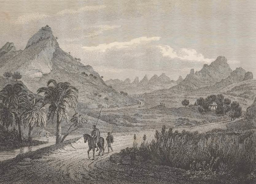 Voyages and Travels to India, Ceylon, the Red Sea, Abyssinia, and Egypt Vol. 3 - View of the Church of Hannes, on the Way to Axum (1809)