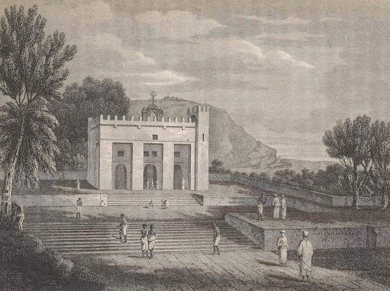 Voyages and Travels to India, Ceylon, the Red Sea, Abyssinia, and Egypt Vol. 3 - Church at Axum (1809)