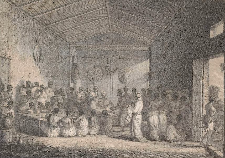 Voyages and Travels to India, Ceylon, the Red Sea, Abyssinia, and Egypt Vol. 3 - A Brind Feast (1809)