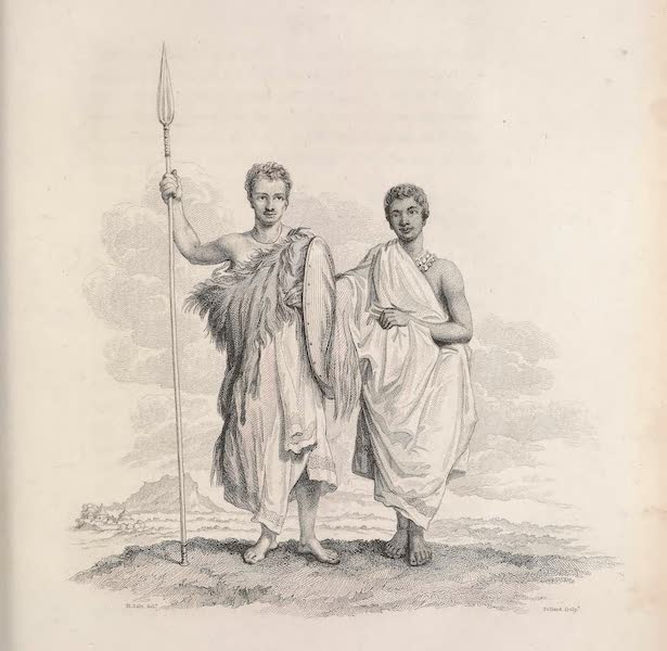 Voyages and Travels to India, Ceylon, the Red Sea, Abyssinia, and Egypt Vol. 3 - Pierce in his Abyssinian Dress, A Young Gall of High Rank (1809)