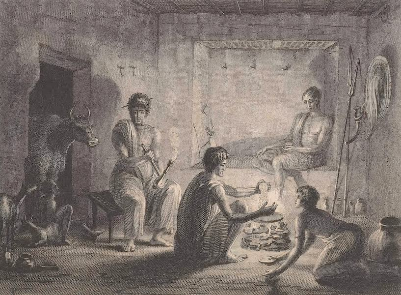 Voyages and Travels to India, Ceylon, the Red Sea, Abyssinia, and Egypt Vol. 3 - Hazorta Family (1809)