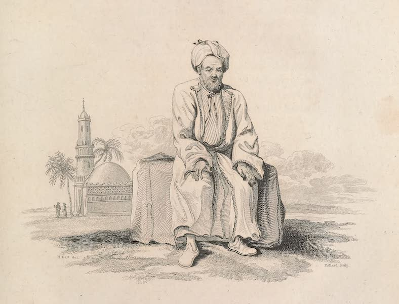 Voyages and Travels to India, Ceylon, the Red Sea, Abyssinia, and Egypt Vol. 3 - Priest at Jidda (1809)