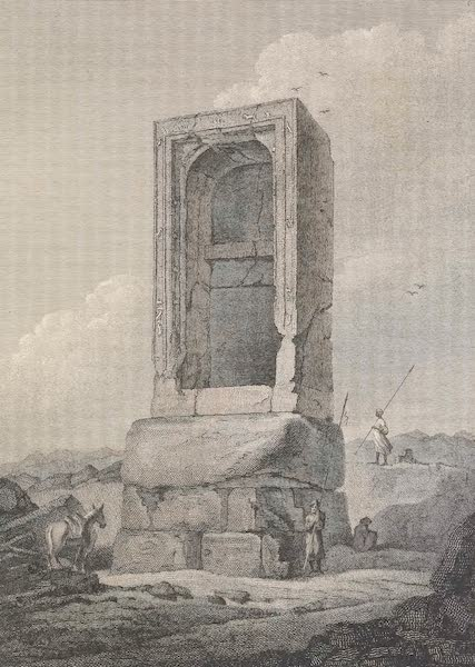 Voyages and Travels to India, Ceylon, the Red Sea, Abyssinia, and Egypt Vol. 3 - Shrine at Timai (1809)