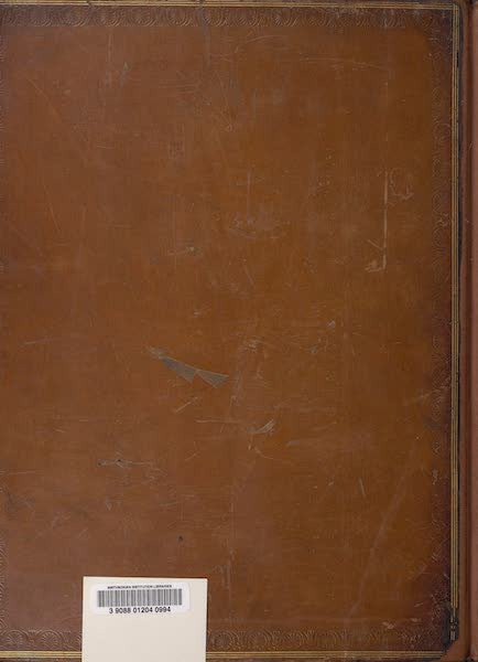 Voyages and Travels to India, Ceylon, the Red Sea, Abyssinia, and Egypt Vol. 3 - Back Cover (1809)