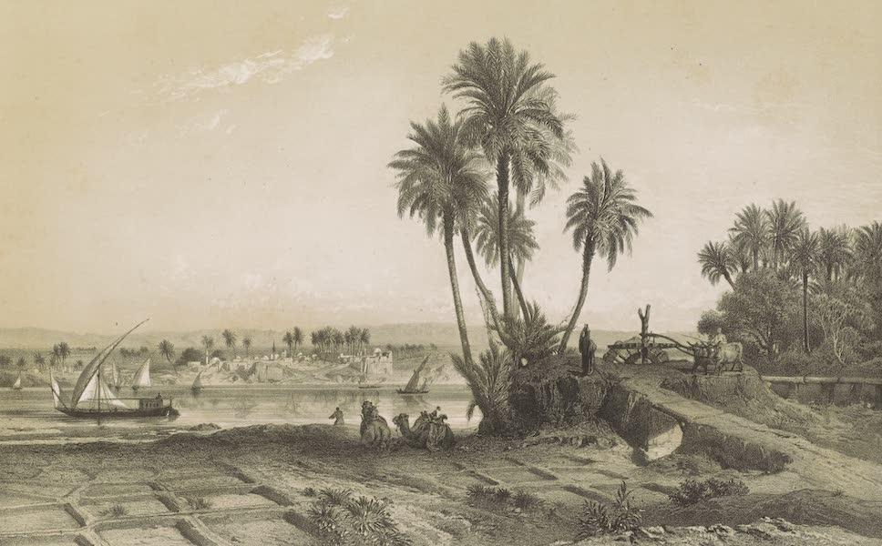 Voyages au Soudan Oriental et Dans l'Afrique Septentrionale - Planche 1. Les bords dut Nil en Égypte. (1852)