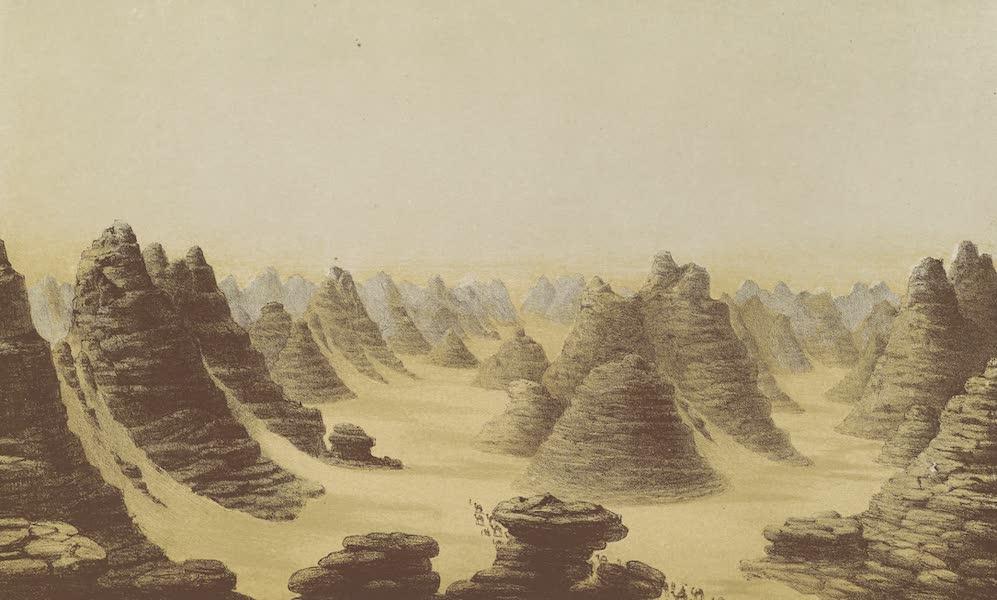 Voyages au Soudan Oriental et Dans l'Afrique Septentrionale - Planche 3. Grand désert de Korosko. (1852)