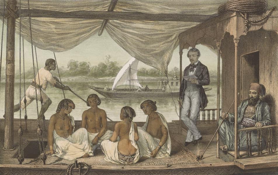 Voyages au Soudan Oriental et Dans l'Afrique Septentrionale - Planche 8. Femmes de Lony. (1852)