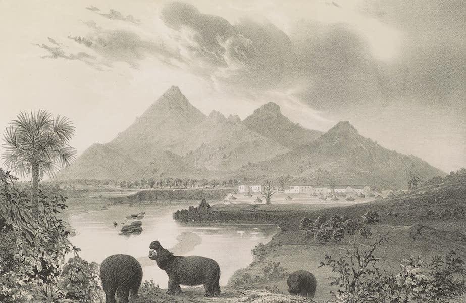 Voyages au Soudan Oriental et Dans l'Afrique Septentrionale - Planche 12. Vue du mont Fa-Zoglo. (1852)