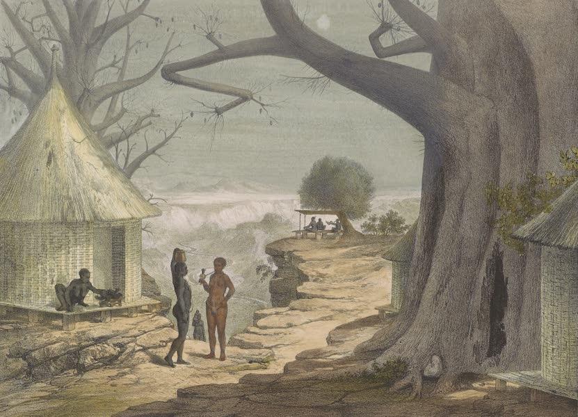 Voyages au Soudan Oriental et Dans l'Afrique Septentrionale - Planche 26. Vue prise à Fa-Doul (1852)