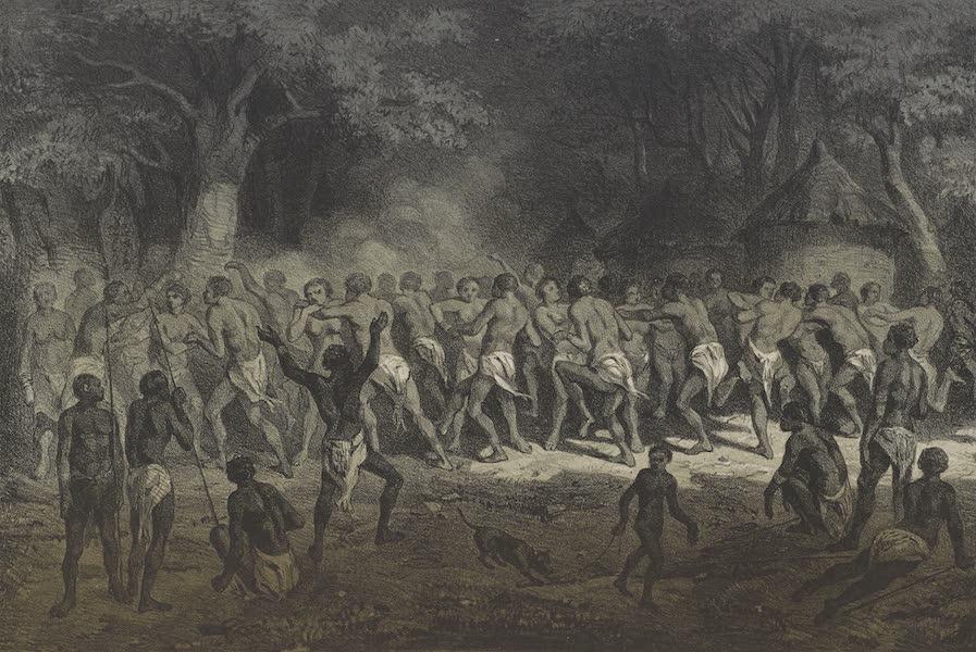 Voyages au Soudan Oriental et Dans l'Afrique Septentrionale - Planche 31. Fête des Nègres. (1852)
