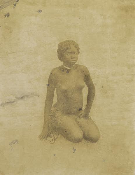 Voyages au Soudan Oriental et Dans l'Afrique Septentrionale - Planche 36. Jeune femme Nouba. (1852)