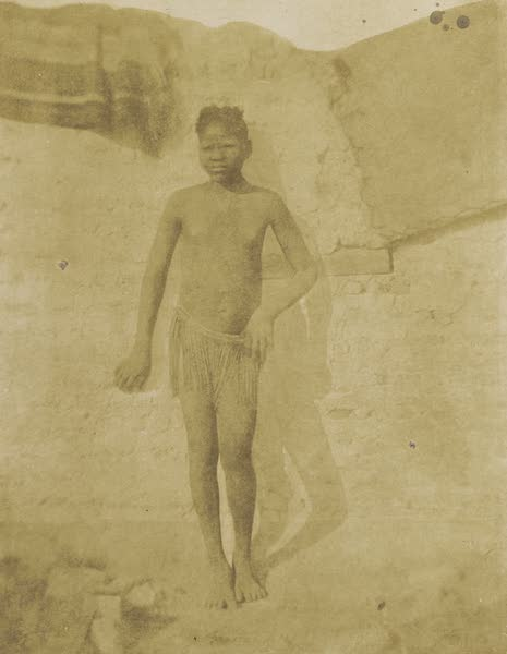 Voyages au Soudan Oriental et Dans l'Afrique Septentrionale - Planche 38. Fille du Dar-Four. (1852)