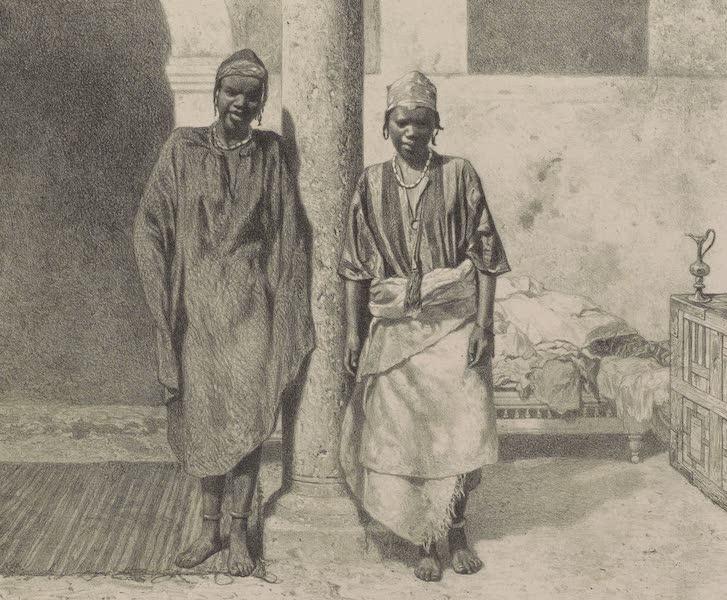 Voyages au Soudan Oriental et Dans l'Afrique Septentrionale - Planche 41. Esclaves du Soudan occidental. (1852)
