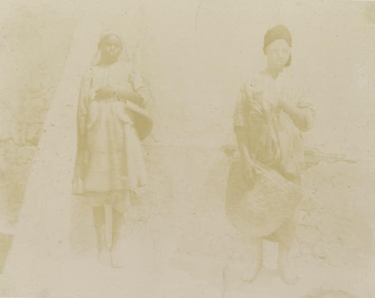 Voyages au Soudan Oriental et Dans l'Afrique Septentrionale - Planche 44. Nubien (esclave) et Égyptien. (1852)