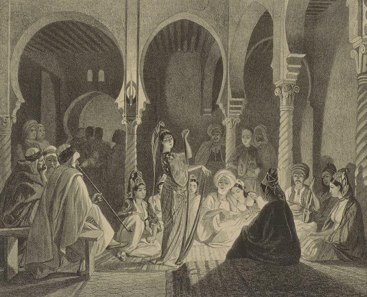Voyages au Soudan Oriental et Dans l'Afrique Septentrionale - Planche 45. Bal More. (1852)