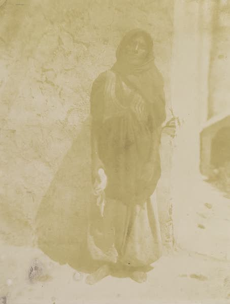 Voyages au Soudan Oriental et Dans l'Afrique Septentrionale - Planche 46. Laveuse égyptienne. (1852)