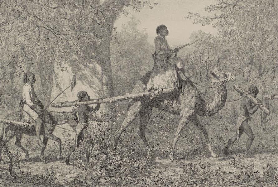Voyages au Soudan Oriental et Dans l'Afrique Septentrionale - Planche 48. Habitants de Kéry réduits en esclavage. (1852)
