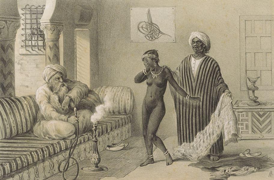 Voyages au Soudan Oriental et Dans l'Afrique Septentrionale - Planche 49. L'Esclavage. (1852)