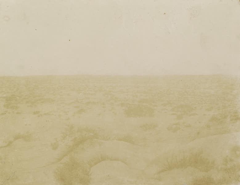 Voyages au Soudan Oriental et Dans l'Afrique Septentrionale - Planche 50. Désert de l'isthme de Suez. (1852)