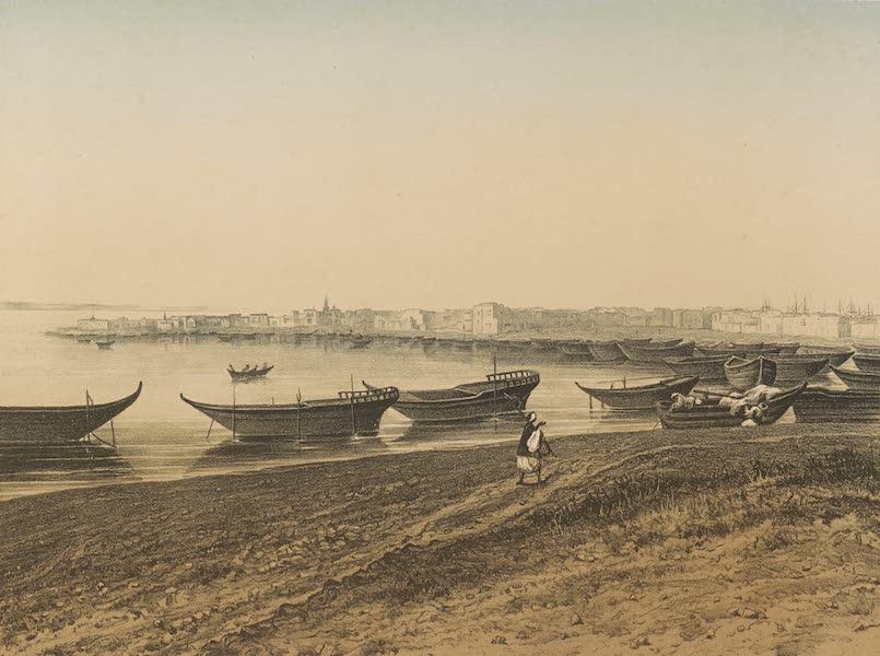 Voyages au Soudan Oriental et Dans l'Afrique Septentrionale - Planche 51. Vue de Suez. (1852)