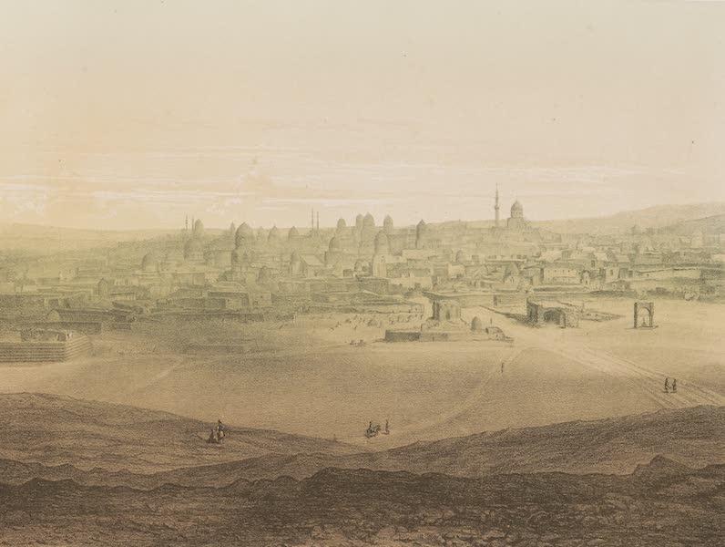 Voyages au Soudan Oriental et Dans l'Afrique Septentrionale - Planche 53. Vue générale des tombeaux des Califes. (1852)